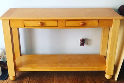 console table original