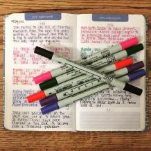 page a day journal and other good habits to make | deniseadelek.wordpress.com