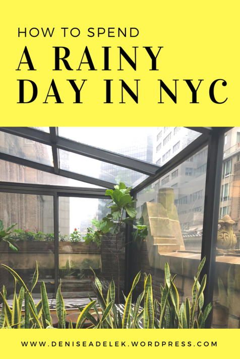 rainy day in nyc | grand central, ny botanic gardens, joe's shanghai and the library hotel | www.deniseadelek.wordpress.com