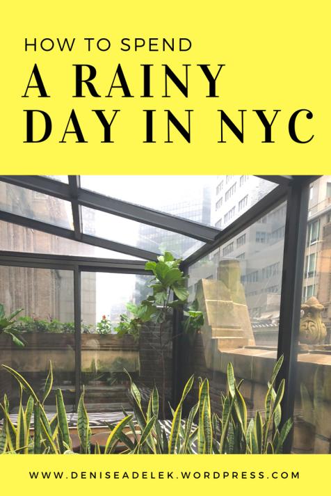 rainy day in nyc | grand central, ny botanic gardens, joe's shanghai and the library hotel | www.deniseadelek.wordpress.com