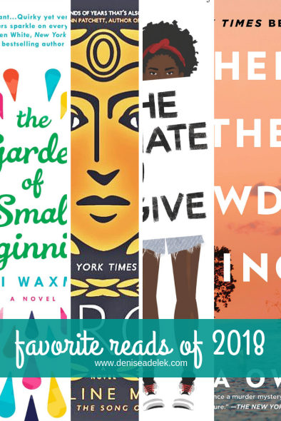 2018 Favorite Books | www.deniseadelek.com